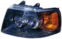 2003 - 2006 Ford Expedition Headlight Assembly (with Black Bezel) - Left (Driver)
