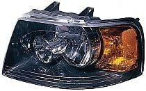 2003-2006 Ford Expedition Headlight Assembly (with Black Bezel) - Left (Driver)