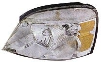 2004 - 2007 Ford Freestar Front Headlight Assembly Replacement Housing / Lens / Cover - Left (Driver)