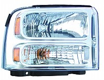 2005 Ford Excursion Front Headlight Assembly Replacement Housing / Lens / Cover - Right (Passenger)