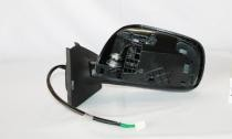 2007 - 2011 Toyota Yaris Side View Mirror (Hatchback / Non-Heated / Power Remote) - Left (Driver)