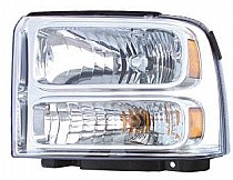 2004 - 2007 Ford F-Series Super Duty Pickup Headlight Assembly - Left (Driver)