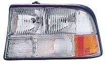 1998 - 2004 GMC Sonoma Headlight Assembly (without Fog Lamps) - Left (Driver)