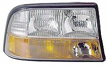 1998 - 2004 GMC S15 Jimmy Headlight Assembly (Excluding Envoy + with Fog Lamps) - Right (Passenger)