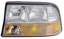 1998 - 2004 GMC S15 Jimmy Headlight Assembly (Excluding Envoy / with Fog Lamps) - Left (Driver)