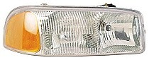 1999-2007 GMC Sierra Headlight Assembly - Right (Passenger)