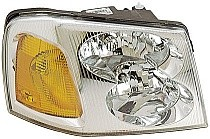 2002 - 2009 GMC Envoy Front Headlight Assembly Replacement Housing / Lens / Cover - Right (Passenger)