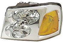2002 - 2009 GMC Envoy Headlight Assembly - Left (Driver)