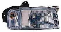 1998 Chevrolet (Chevy) Tracker Front Headlight Assembly Replacement Housing / Lens / Cover - Right (Passenger)