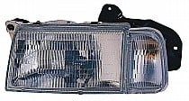1990 - 1998 Geo Tracker Front Headlight Assembly Replacement Housing / Lens / Cover - Left (Driver)