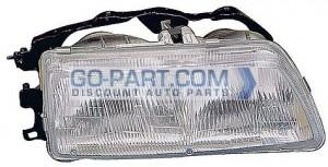 1990-1991 Honda Civic Headlight Assembly - Right (Passenger)