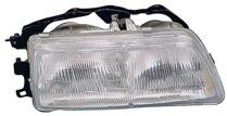 1990 - 1991 Honda Civic Headlight Assembly - Left (Driver)