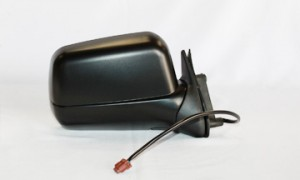 1998-2004 Nissan Frontier Side View Mirror (Non-Heated / Power Remote / Black Lens / Frontier XE) - Right (Passenger)