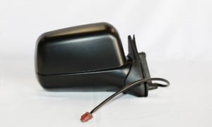 2000-2004 Nissan Xterra Side View Mirror (Nonheated Power Remote / Black)  - Right (Passenger)