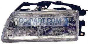 1988-1989 Honda Civic CRX Headlight Assembly - Left (Driver)