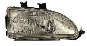 1992-1995 Honda Civic Headlight Assembly - Right (Passenger)