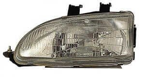 1992-1995 Honda Civic Headlight Assembly - Left (Driver)