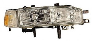 1990-1991 Honda Accord Headlight Assembly - Right (Passenger) complete assembly