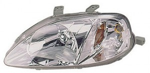 1999-2000 Honda Civic Headlight Assembly - Left (Driver)