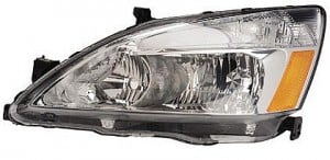 2005-2007 Honda Accord Hybrid Headlight Assembly - Left (Driver)