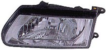 2000 - 2002 Isuzu Rodeo Front Headlight Assembly Replacement Housing / Lens / Cover - Left (Driver)