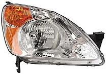 2002 - 2004 Honda CR-V Headlight Assembly - Right (Passenger)