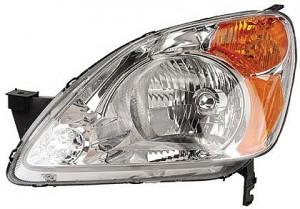 2002-2004 Honda CR-V Headlight Assembly - Left (Driver)
