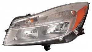 2011-2012 Buick Regal Headlight Assembly - Left (Driver)