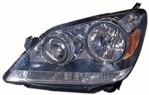 2005 - 2007 Honda Odyssey Front Headlight Assembly Replacement Housing / Lens / Cover - Left (Driver)