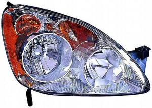 2005-2006 Honda CR-V Headlight Assembly - Right (Passenger)