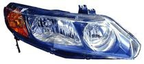 2006 - 2008 Honda Civic Headlight Assembly (Sedan Only AT & MT) - Right (Passenger)