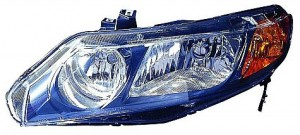 2006-2008 Honda Civic Headlight Assembly (Sedan Only AT & MT) - Left (Driver)