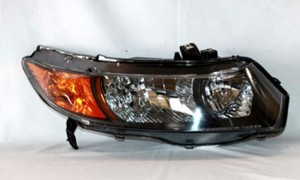 2006-2008 Honda Civic Headlight Assembly (Coupe) - Right (Passenger)
