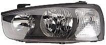 2001 - 2003 Hyundai Elantra Front Headlight Assembly Replacement Housing / Lens / Cover - Left (Driver)