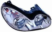 2002 - 2005 Hyundai Sonata Front Headlight Assembly Replacement Housing / Lens / Cover - Right (Passenger)