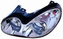 2002 - 2005 Hyundai Sonata Front Headlight Assembly Replacement Housing / Lens / Cover - Left (Driver)