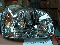 2003 - 2006 Hyundai Santa Fe Front Headlight Assembly Replacement Housing / Lens / Cover - Right (Passenger)