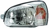2001-2003 Hyundai Santa Fe Headlight Assembly - Left (Driver)