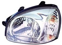 2003 Hyundai Santa Fe Headlight Assembly - Left (Driver)