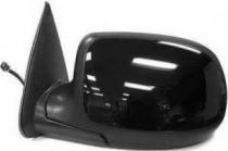 2002 Chevrolet Chevy Avalanche Side View Mirror Replacement (Heated Power Remote + Manual Folding + without Puddle Lamp) - Left (Driver)