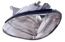 1999 - 2001 Hyundai Sonata Front Headlight Assembly Replacement Housing / Lens / Cover - Left (Driver)