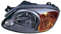 2003 - 2006 Hyundai Accent Front Headlight Assembly Replacement Housing / Lens / Cover - Left (Driver)