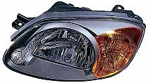 2003-2006 Hyundai Accent Headlight Assembly - Left (Driver)