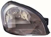 2005 - 2009 Hyundai Tucson Front Headlight Assembly Replacement Housing / Lens / Cover - Right (Passenger)