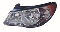 2007 - 2009 Hyundai Elantra Headlight Assembly - Left (Driver)