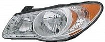 2007-2009 Hyundai Elantra Headlight Assembly - Left (Driver)