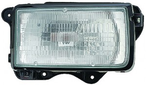 1991-1997 Isuzu Rodeo Headlight Assembly - Right (Passenger)