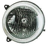 2002 - 2003 Jeep Liberty Front Headlight Assembly Replacement Housing / Lens / Cover - Left (Driver)