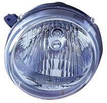 2003 - 2004 Jeep Liberty Front Headlight Assembly Replacement Housing / Lens / Cover - Left (Driver)