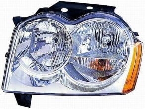 2005-2007 Jeep Grand Cherokee Headlight Assembly - Left (Driver)